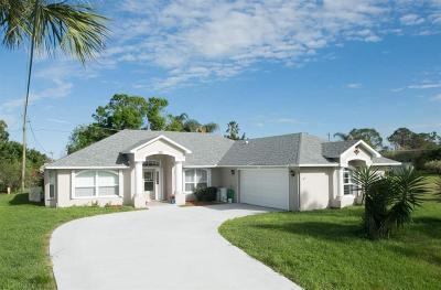 Sebastian Single Family Home For Sale: 610 Nobles Street