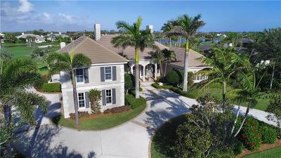 Vero Beach, Indian River Shores, Melbourne Beach, Sebastian, Palm Bay, Orchid Island, Micco, Indialantic, Satellite Beach Single Family Home For Sale: 350 Westwind Court
