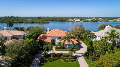 Vero Beach, Indian River Shores, Melbourne Beach, Melbourne, Sebastian, Palm Bay, Orchid Island, Micco, Indialantic, Satellite Beach Single Family Home For Sale: 875 River Trail