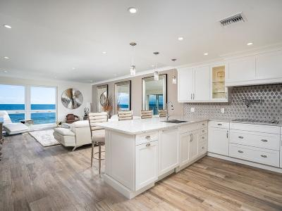 Vero Beach, Indian River Shores, Melbourne Beach, Melbourne, Sebastian, Palm Bay, Orchid Island, Micco, Indialantic, Satellite Beach Condo/Townhouse For Sale: 5000 Highway A1a #211
