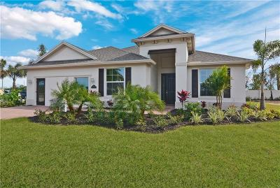 Vero Beach, Indian River Shores, Melbourne Beach, Melbourne, Sebastian, Palm Bay, Orchid Island, Micco, Indialantic, Satellite Beach Single Family Home For Sale: 5859 Segovia Place