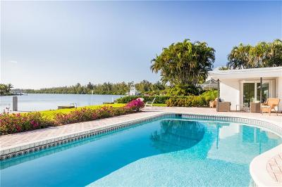 Vero Beach, Indian River Shores, Melbourne Beach, Melbourne, Sebastian, Palm Bay, Orchid Island, Micco, Indialantic, Satellite Beach Single Family Home For Sale: 4601 Sunset Drive