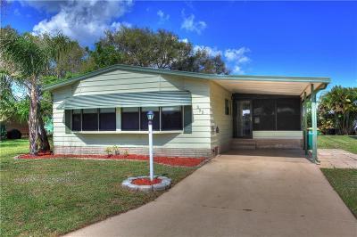 Sebastian Single Family Home For Sale: 355 Marlin Circle