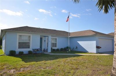 Sebastian Single Family Home For Sale: 965 Clearmont Street