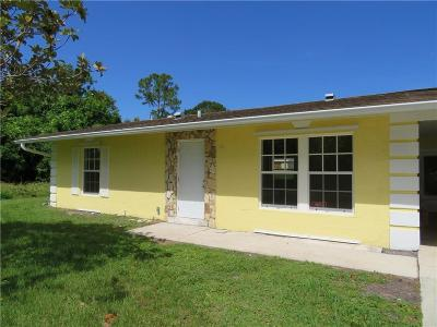 Sebastian Single Family Home For Sale: 1790 Mainsail Street
