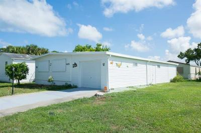 Sebastian Single Family Home For Sale: 425 Seagull Drive