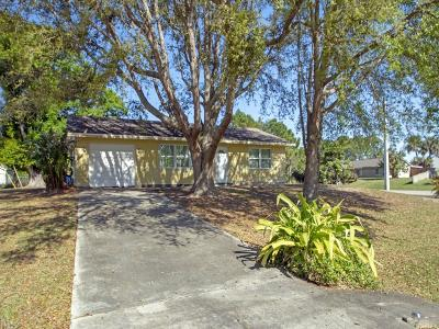 Sebastian Single Family Home For Sale: 501 Autumn Terrace