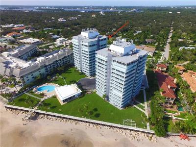 Vero Beach, Indian River Shores, Melbourne Beach, Melbourne, Sebastian, Palm Bay, Orchid Island, Micco, Indialantic, Satellite Beach Condo/Townhouse For Sale: 3554 Ocean Drive #PH2S