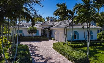 Vero Beach, Indian River Shores, Melbourne Beach, Sebastian, Palm Bay, Orchid Island, Micco, Indialantic, Satellite Beach Single Family Home For Sale: 401 Palm Island Circle