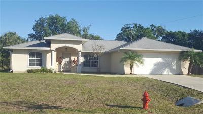 Sebastian Single Family Home For Sale: 104 Landover Drive