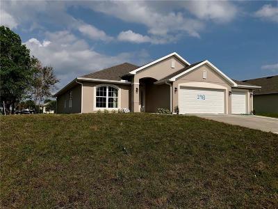 Sebastian Single Family Home For Sale: 398 Watercrest Street