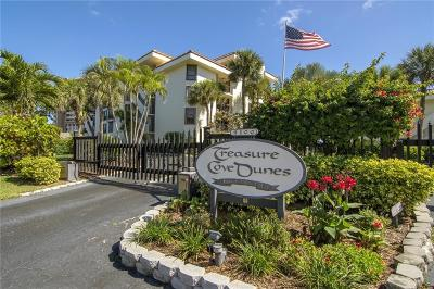 Hutchinson Island Condo/Townhouse For Sale: 4100 Hwy Highway A1a #111