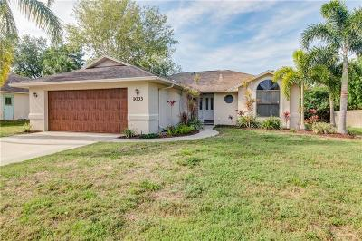 Sebastian Single Family Home For Sale: 1033 Barber Street