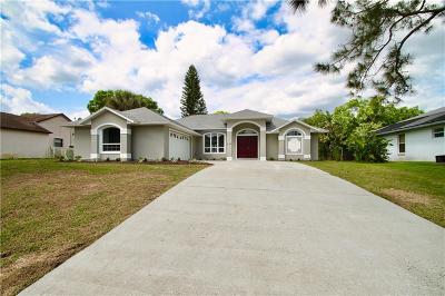 Sebastian Single Family Home For Sale: 419 Concha Drive