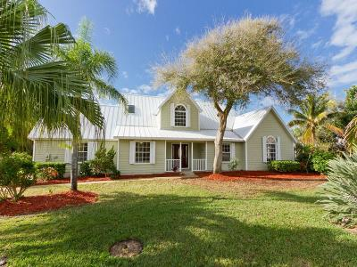 Vero Beach Single Family Home For Sale: 1655 Shuckers Point