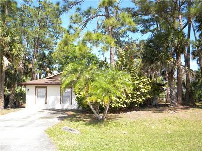 Sebastian Single Family Home For Sale: 726 Doctor Avenue