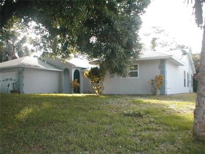 Sebastian Single Family Home For Sale: 618 Brookedge Terrace