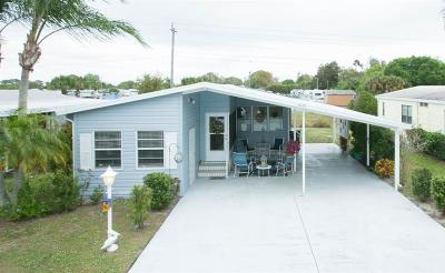 Sebastian Single Family Home For Sale: 1021 Sebastian Road