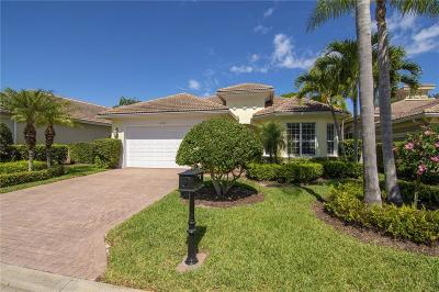 Vero Beach, Indian River Shores, Melbourne Beach, Melbourne, Sebastian, Palm Bay, Orchid Island, Micco, Indialantic, Satellite Beach Single Family Home For Sale: 2190 Falls Circle
