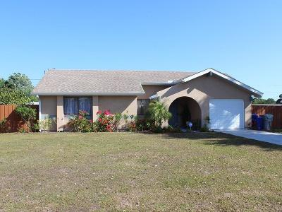 Vero Beach Single Family Home For Sale: 1130 24th Street