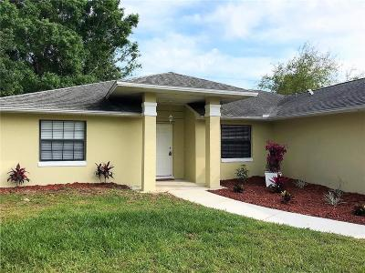 Sebastian FL Single Family Home For Sale: $234,900