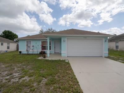 Vero Beach Single Family Home For Sale: 7736 102nd Avenue