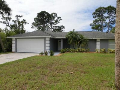 Sebastian Single Family Home For Sale: 116 Bryant Court