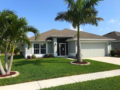 Sebastian Single Family Home For Sale: 439 Briarcliff Circle