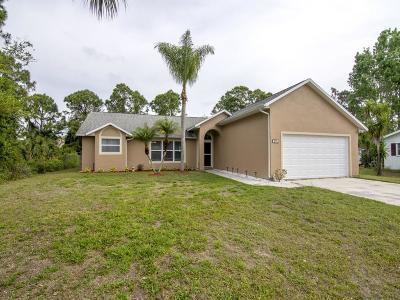 Sebastian Single Family Home For Sale: 274 Englar Drive