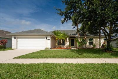 Sebastian Single Family Home For Sale: 116 Drake Way