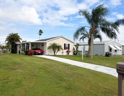 Sebastian Single Family Home For Sale: 1216 Barefoot Circle