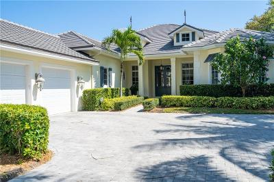 Vero Beach, Indian River Shores, Melbourne Beach, Melbourne, Sebastian, Palm Bay, Orchid Island, Micco, Indialantic, Satellite Beach Single Family Home For Sale: 910 Cove Point Place