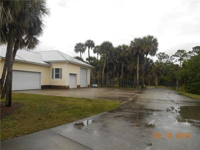 Melbourne Single Family Home For Sale: 5500 Sand Lake Drive