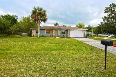 Sebastian Single Family Home For Sale: 525 Lake Drive