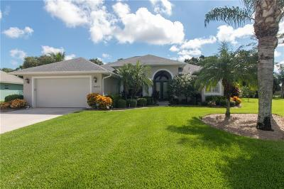 Vero Beach Single Family Home For Sale: 6455 33rd Place