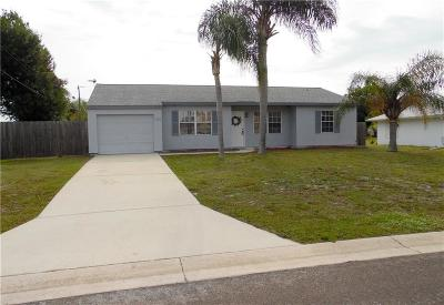 Sebastian Single Family Home For Sale: 182 Mabry Street