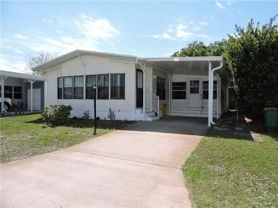 Sebastian Single Family Home For Sale: 805 Tamarind Circle