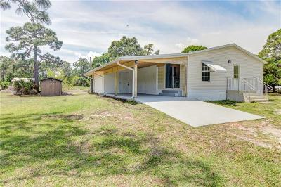 Sebastian Single Family Home For Sale: 7865 128th Court