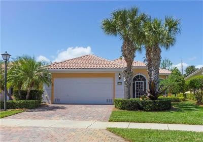 Vero Beach FL Single Family Home For Sale: $334,900
