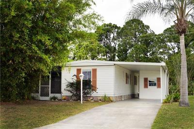 Sebastian Single Family Home For Sale: 1345 Barefoot Circle