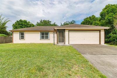 Sebastian Single Family Home For Sale: 442 Pine Street