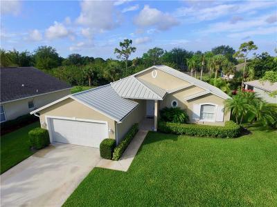 Sebastian Single Family Home For Sale: 681 Collier Lake Circle