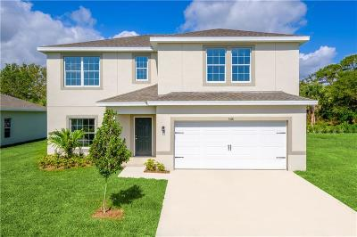 Fort Pierce Single Family Home For Sale: 5219 Oakland Lake Circle