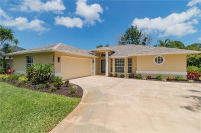 Sebastian Single Family Home For Sale: 1274 Larkspur Street