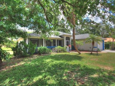 Sebastian Single Family Home For Sale: 1564 Clearbrook Street