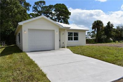 Vero Beach Single Family Home For Sale: 1166 17th Avenue