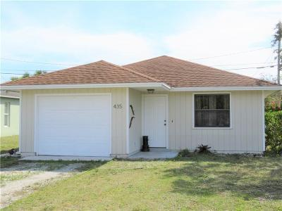 Vero Beach Single Family Home For Sale: 435 SW 13th Lane