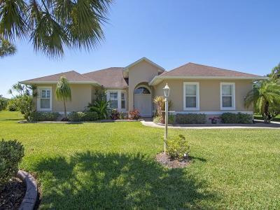 Sebastian Single Family Home For Sale: 107 Becker Avenue
