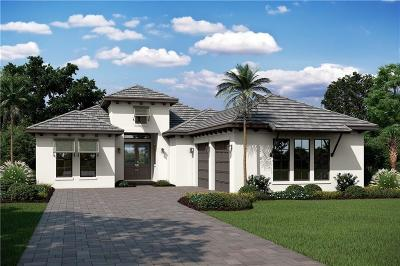 Vero Beach, Indian River Shores, Melbourne Beach, Sebastian, Palm Bay, Orchid Island, Micco, Indialantic, Satellite Beach Single Family Home For Sale: 1702 Lake Club Court