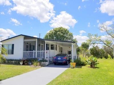 Sebastian Single Family Home For Sale: 1043 Wren Circle